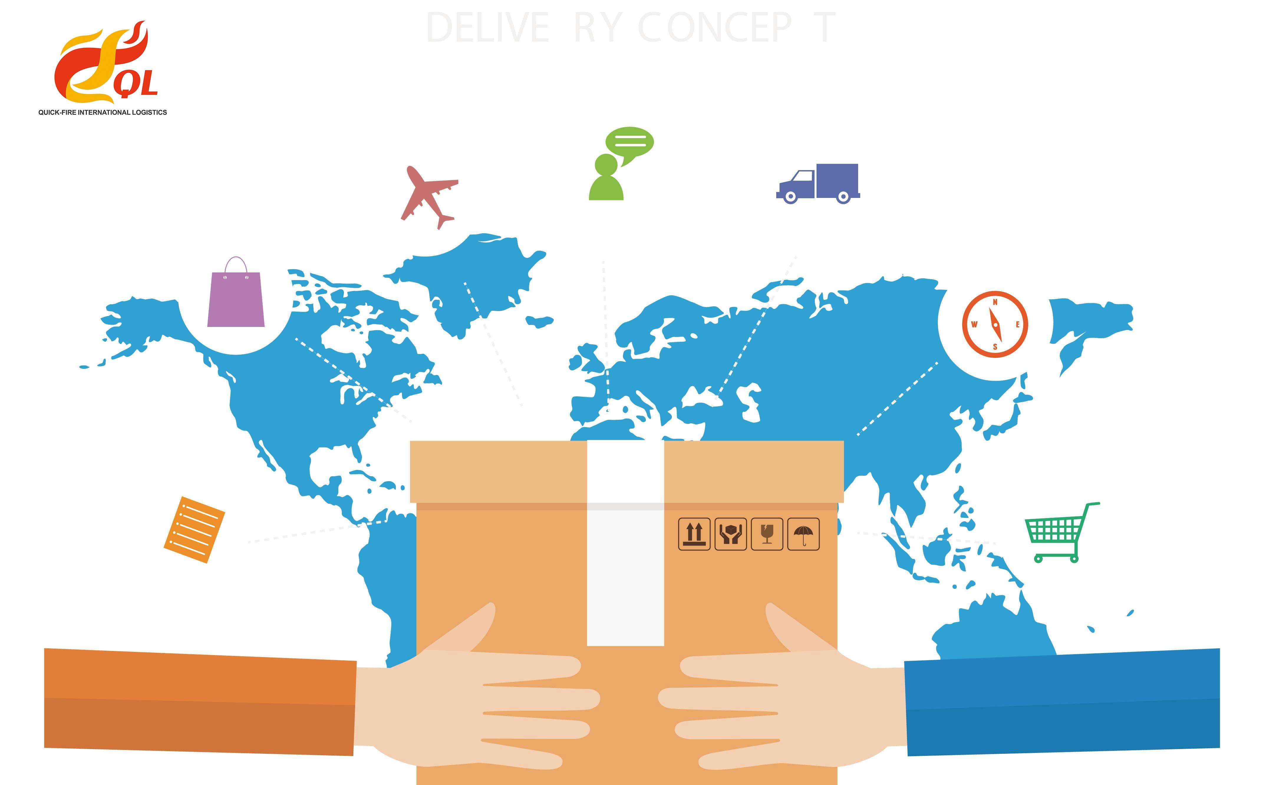深圳哪里可以寄国际快递?